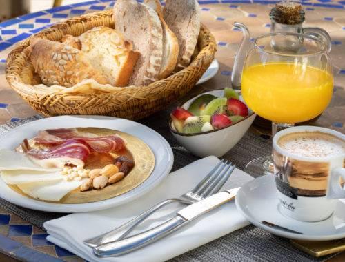 Desayuno en La casa del Califa