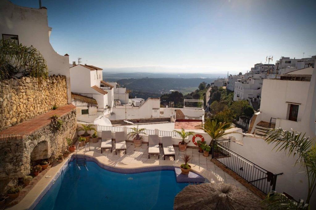 Beautiful views of the hotel Las Palmeras del Califa