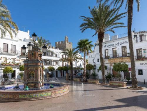 Plaza España de Vejer de la Frontera