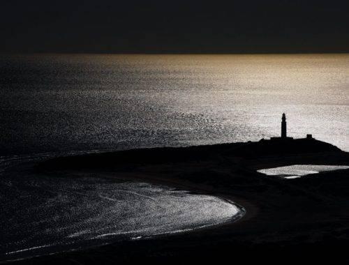 Faro Trafalgar atardecer