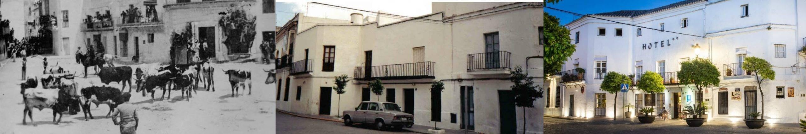 El edificio Califa en la Plaza de España 1898, 1989, 2013