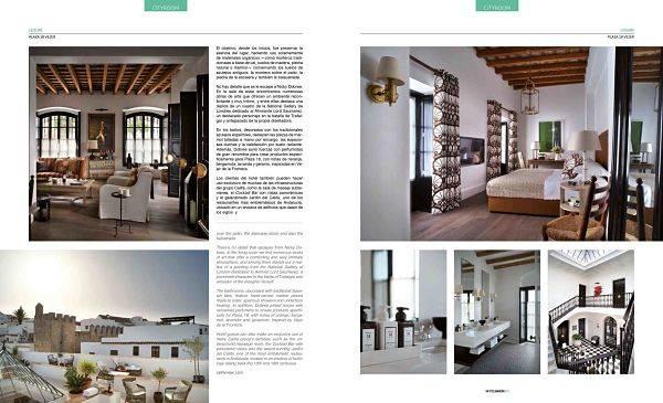 En hotel Plaza 18 de Vejer en la revista Vip Style Magazine.