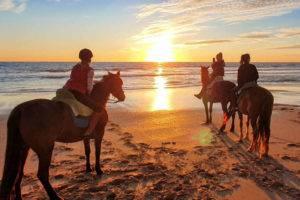 Paseos a caballo en Vejer de la Frontera